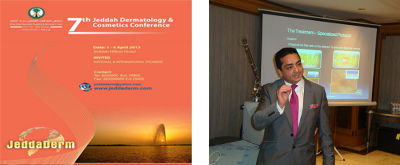 April 2013 - International Jeddah Derma Conference, Saudi Arabia