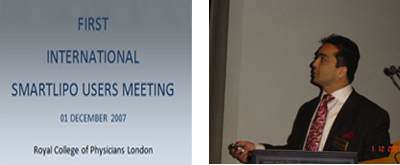 December 2007 - I International Smartlipo Conference - RSM , UK