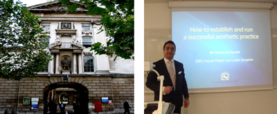 February 2012 - Pan Thames Plastic Surgery Teaching Day, UK