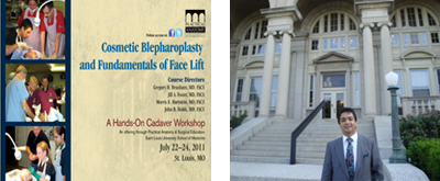 July 2011 - Cosmetic Blepharoplasty and<br />Face Lift Workshop, USA