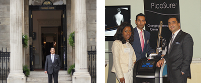 June 2013 - PicoSure Laser launch at Chandos House, UK