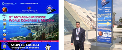 March 2011 - Anti-Aging Medicine World Congress, France