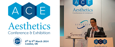 March 2014 - The Aesthetic Conference and Exhibition, UK