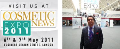 May 2011 - Cosmetic News Expo 2011, UK