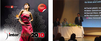 October 2010 - InterCHARM Cosmetic Conference, Russia