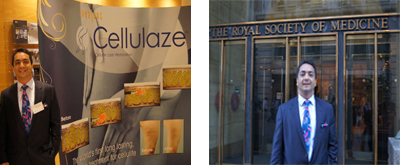 September 2011 - The launch of Cellulaze laser for cellulite<br />at The Royal Society of Medicine, UK