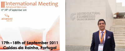 September 2011 - 3. International Meeting for Advanced Skin Care, Portugal