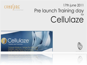 Pre-launch training day for Cellulaze laser by Dr Ayham Al-Ayoubi